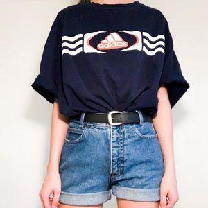 ✭ Navy Adidas T-shirt ✭